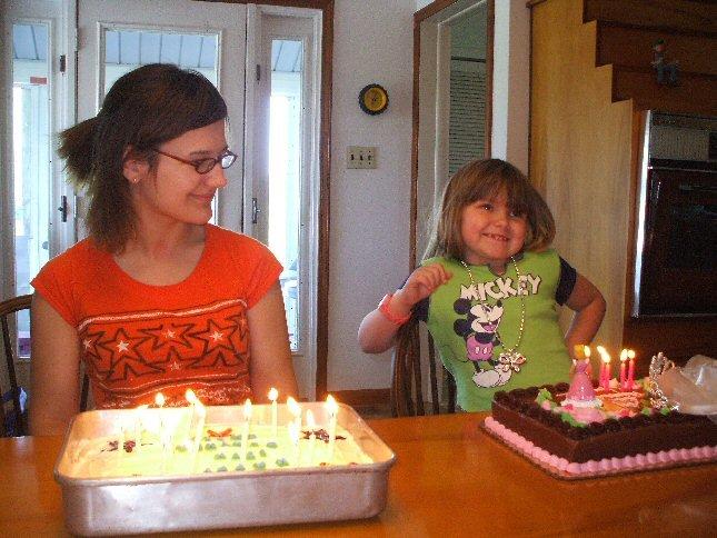 Me & Jorden birthdays