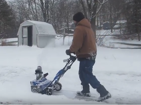Snow joe snow blower review