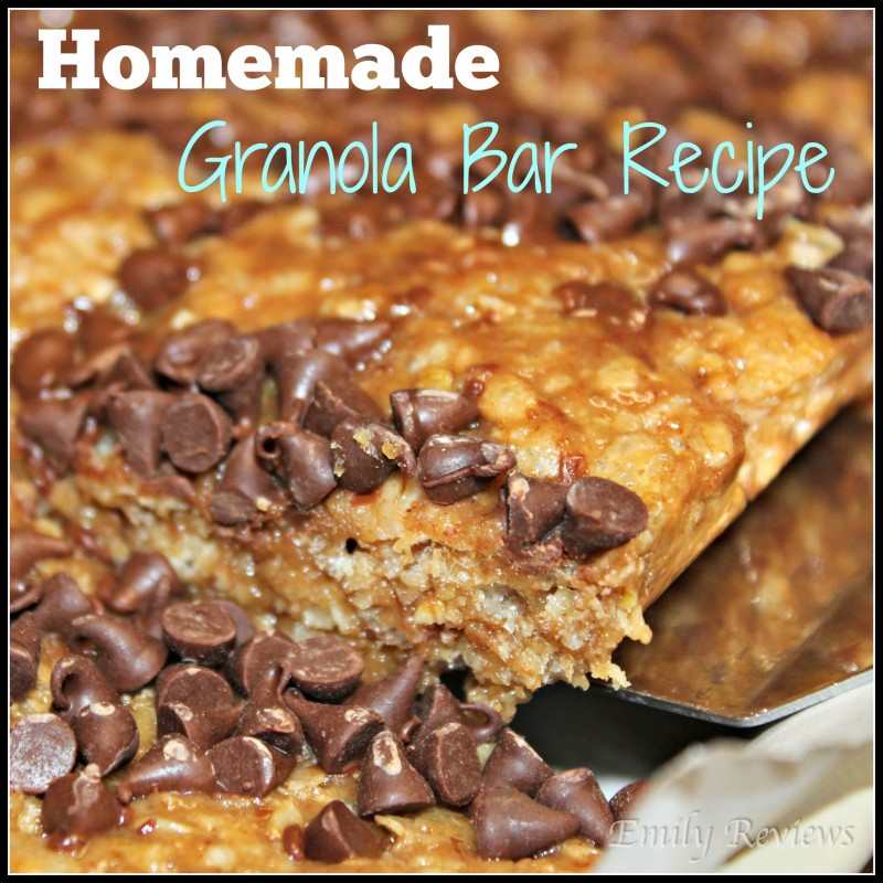 Pampered Chef ~ Large Bar Pan Review, Homemade Granola Bars Recipe