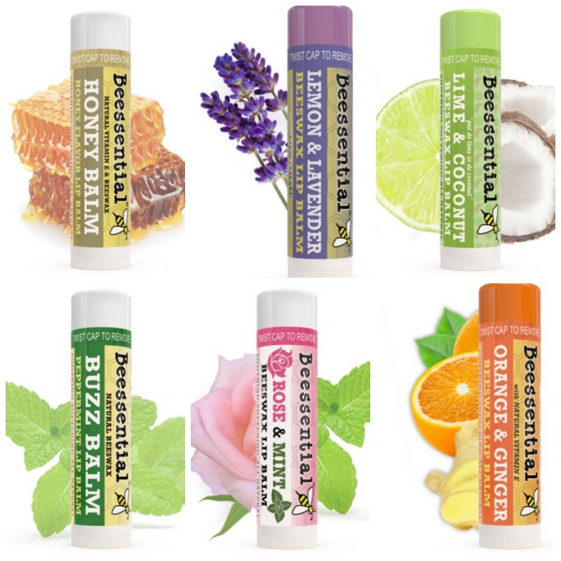 Beessential Lip Balms ~ Great Easter Basket stuffers. Cosmetic surgery can give you luscious lips, but so can Mother Nature. This naturally delicious Honey Lip Balm tastes as sweet as the honeycomb it came from and leaves no greasy residue. Honey is a natural humectant able to trap moisture for supple lips that last for hours. So, sit back and smile while others incessantly reapply this summer. With this un-bee-lievable formula of Beeswax, Olive Oil, Shea and Cupuacu butters, lips stay ultra-soft and hydrated. {Emily Reviews}