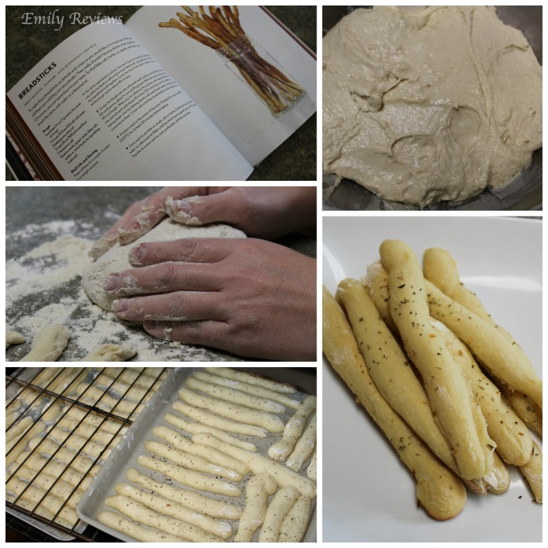 Get Cooking With Weldon Owen ~ Delicious Bread Sticks Recipe {Emily Reviews}