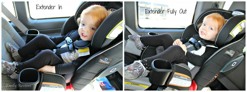 Graco Extend2Fit Car Seat Allows For Extended Rear Facing Review