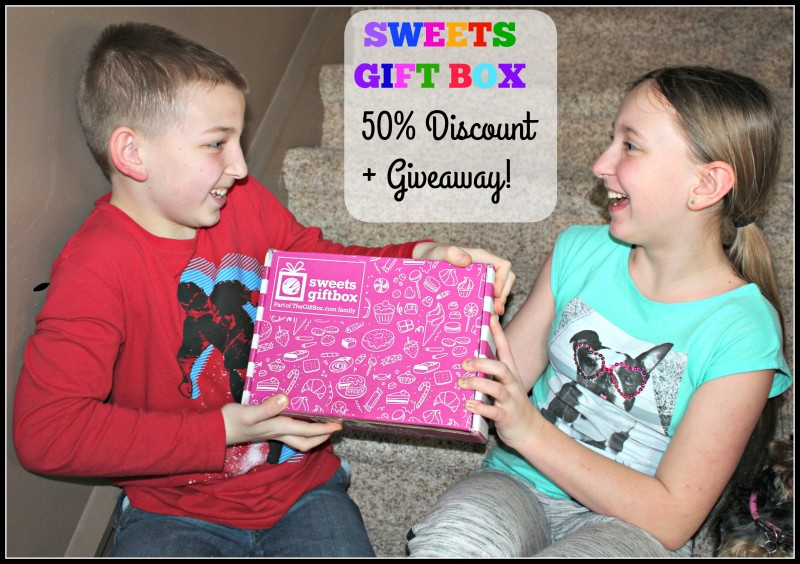 Sweets Gift Box {Monthly Subscription For The Sweet Tooth Friends In Your Life} + Discount {Emily Reviews}