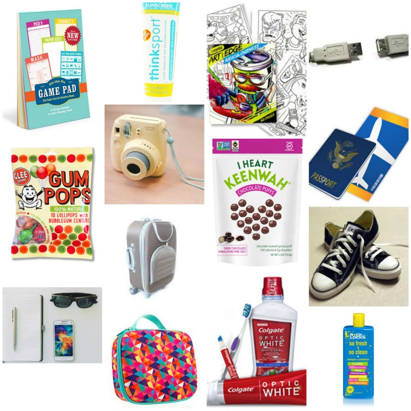 It is a good idea to place all cosmetics and grooming products in plastic  bags just in case they leak  I also suggest packing a plastic bag for dirty. Preparing For Take Off With Tweens   FREE Printable Packing List