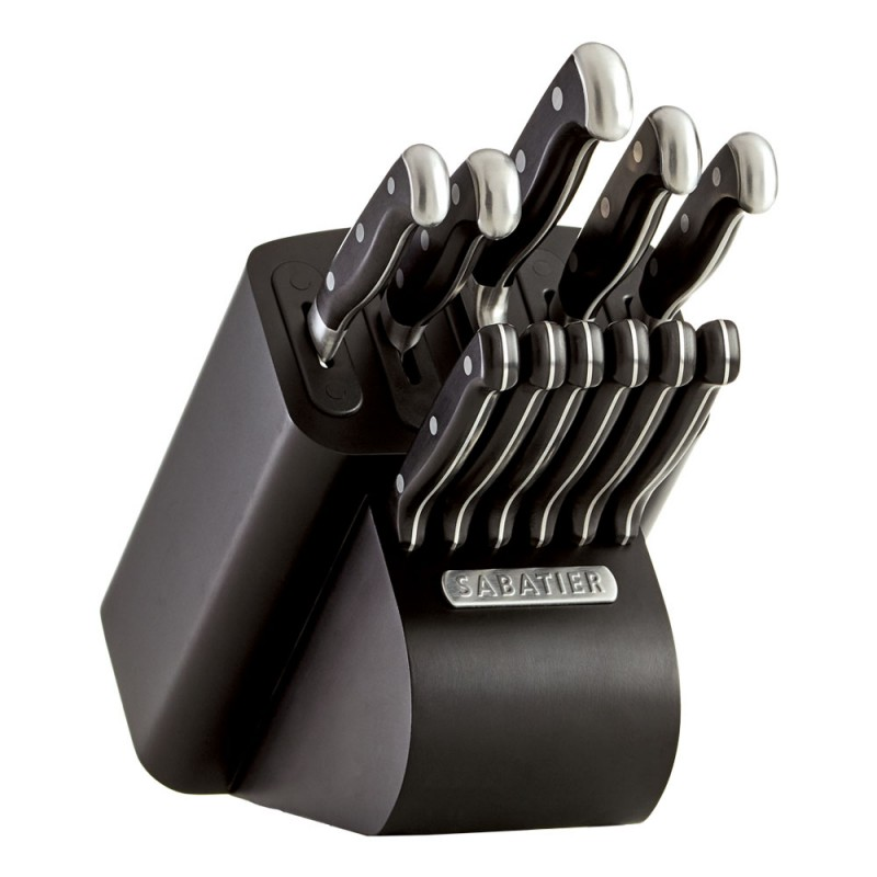 Sabatier Cutlery 12 Piece Edgekeeper Pro Knife Block Set