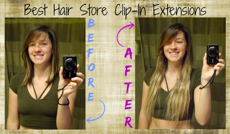 Best hair store clip in extensions