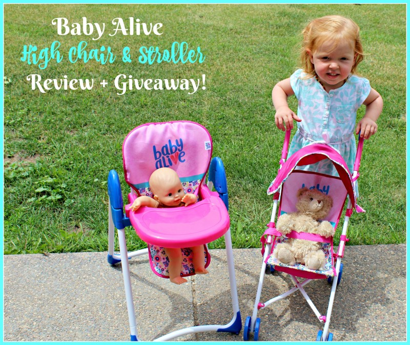 Baby Alive ~ Stroller & High Chair For The Littlest ...
