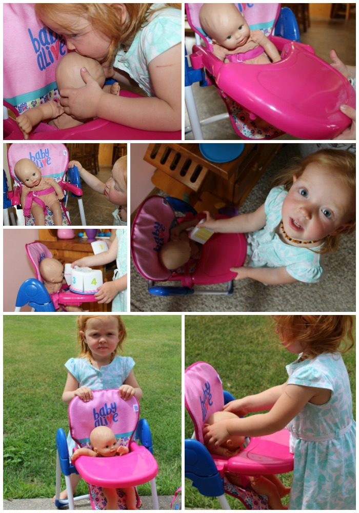Baby Alive Stroller Amp High Chair For The Littlest