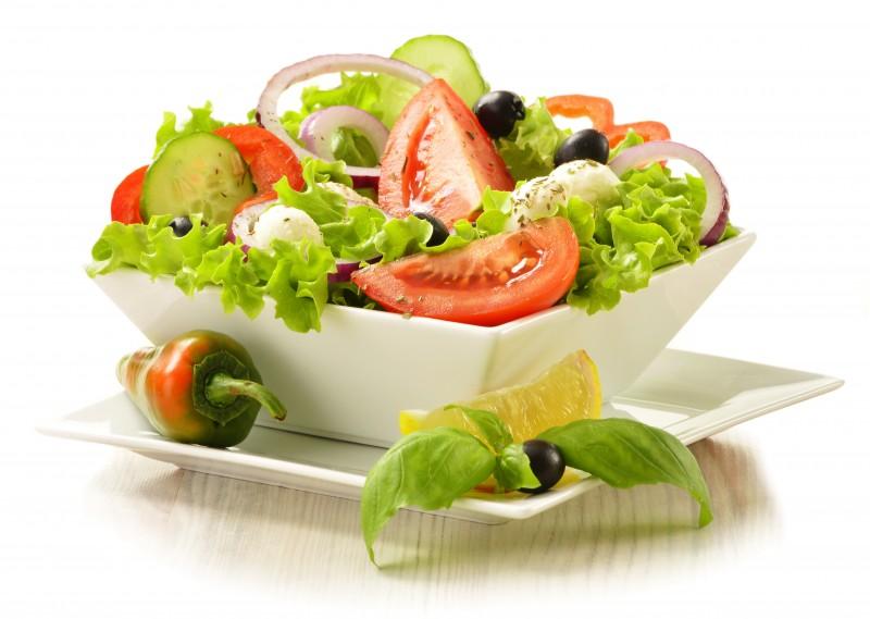 salad veggies