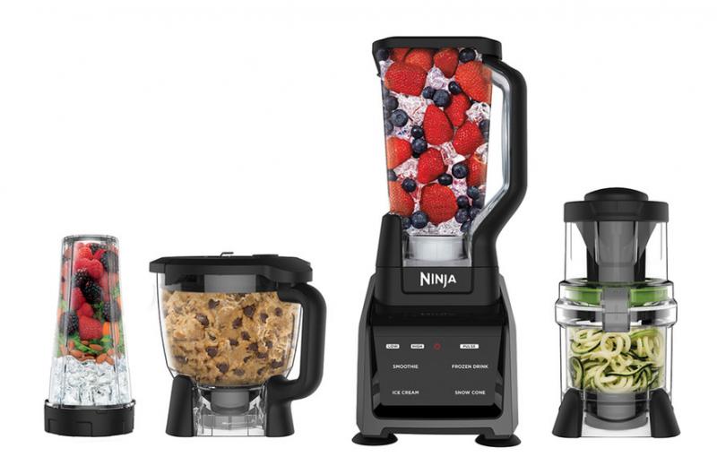 The Ninja® Intelli-Sense™ System with Auto-Spiralizer