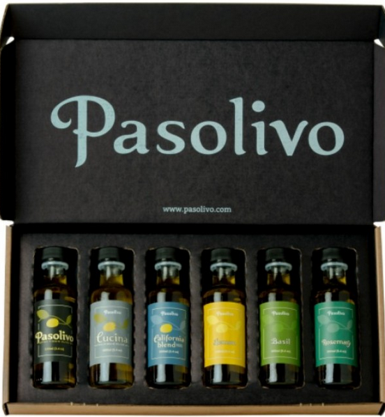 Pasolivo - Mini Olive Oil Variety Kit
