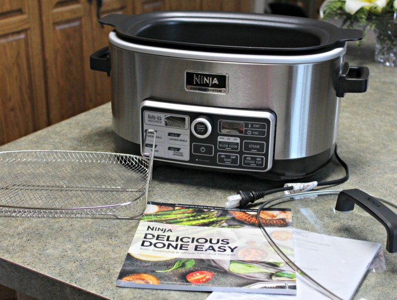 The Ninja® Cooking System with Auto-iQ