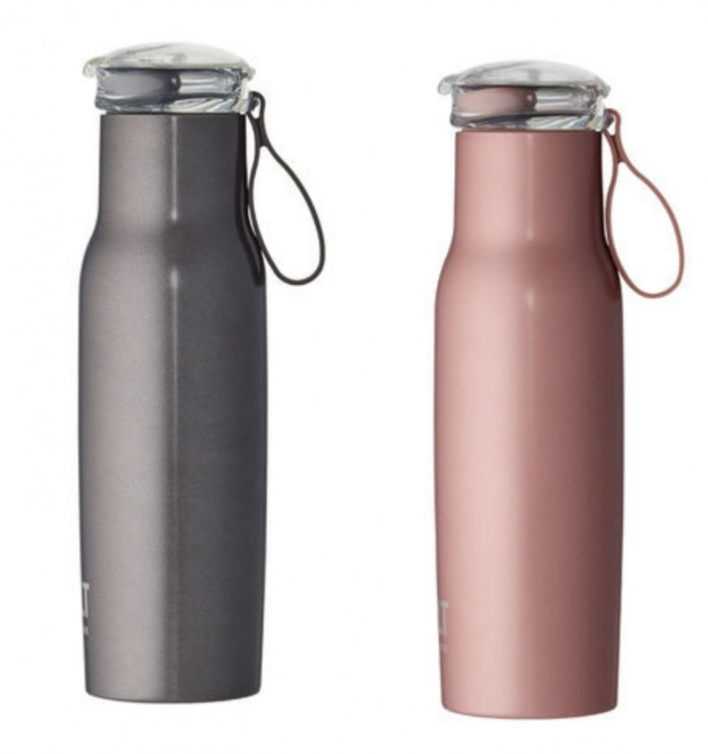 BuiltNY Flip Top Vacuum Insulated Bottle 18 oz