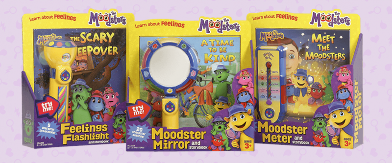 The Moodsters - Social and Emotional Toys for Children