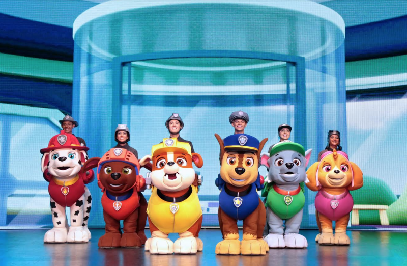 Paw Patrol LIVE! ~ Give The Gift Of An Experience This Christmas