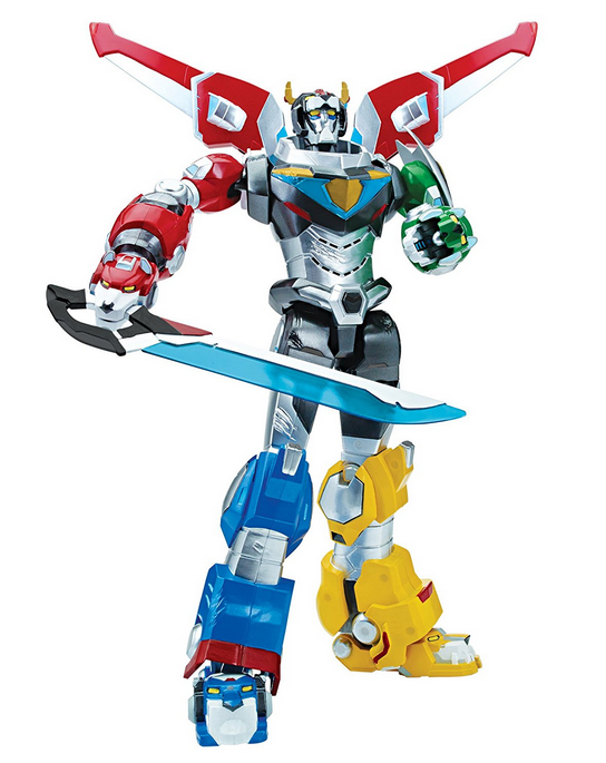 "Ultimate Voltron 14"" Electronic Figure"