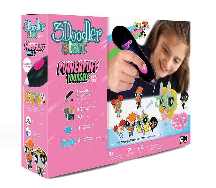 Cartoon Network Power Puff Girls 3Doodler