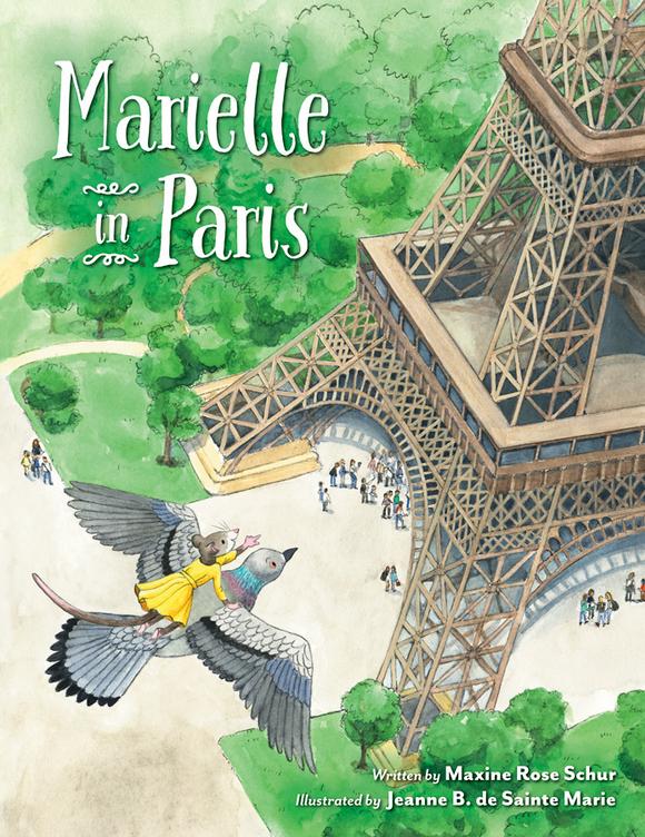 Marielle in Paris Hardcover Book