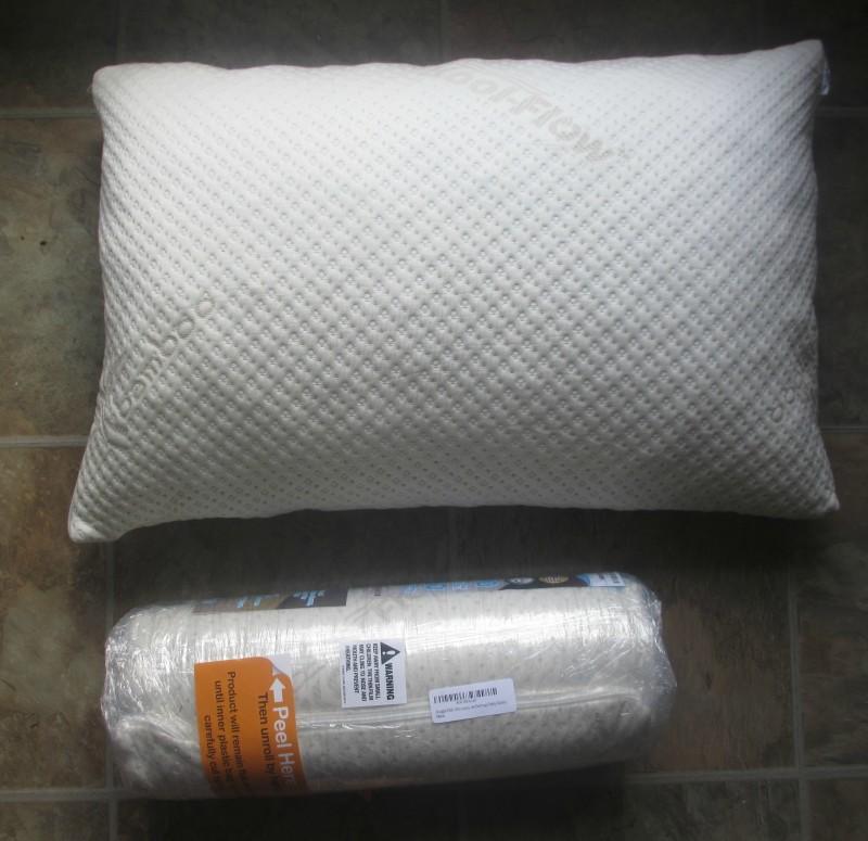 Snuggle-pedic pillow