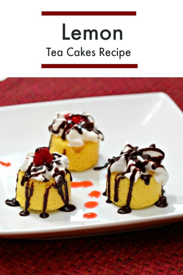 Lemon tea cake recipe homemade dessert
