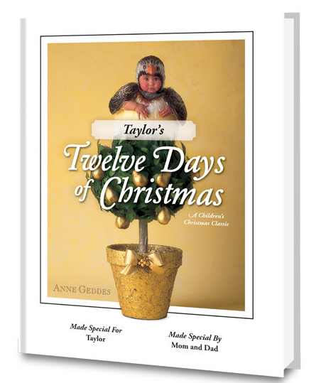 Put Me In The Story - 12 Days Of Christmas Personalized Book