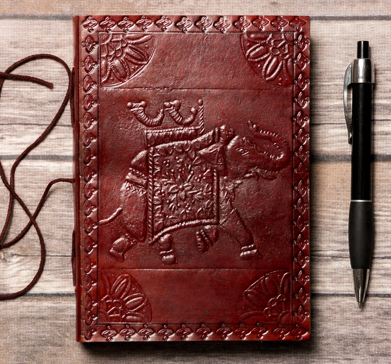 Soothi Handmade Elephant Leather Journal