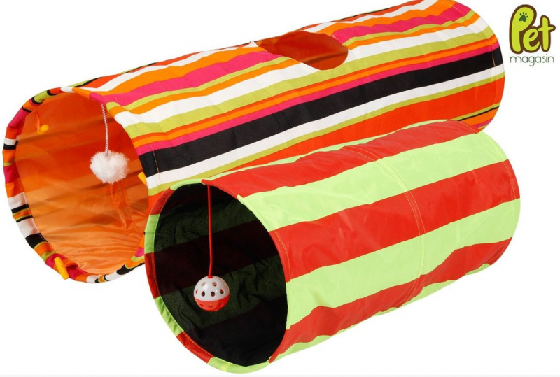 Pet Magasin - Collapsible Cat Tunnel Toys (2-Pack)