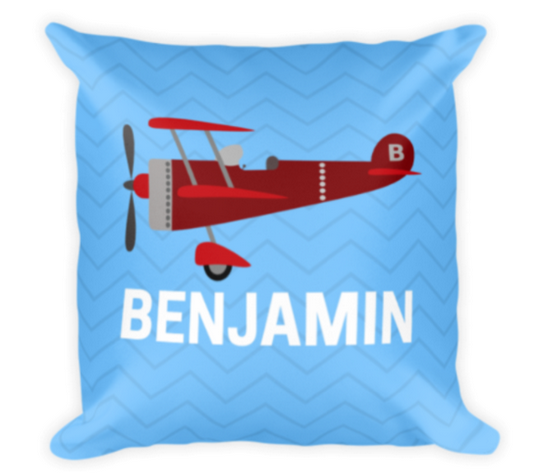 Naptime Kids Custom Name Pillow