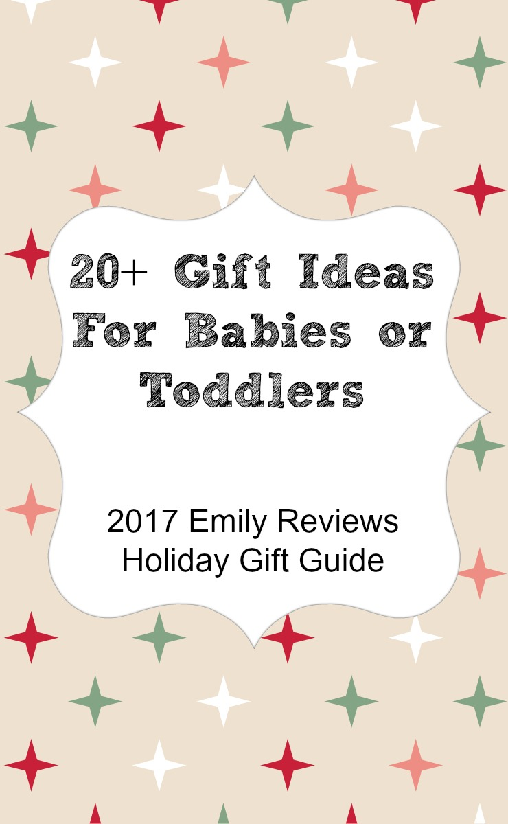 20+ gift ideas for babies or toddlers. Gift guide for little ones ages newborn to three.