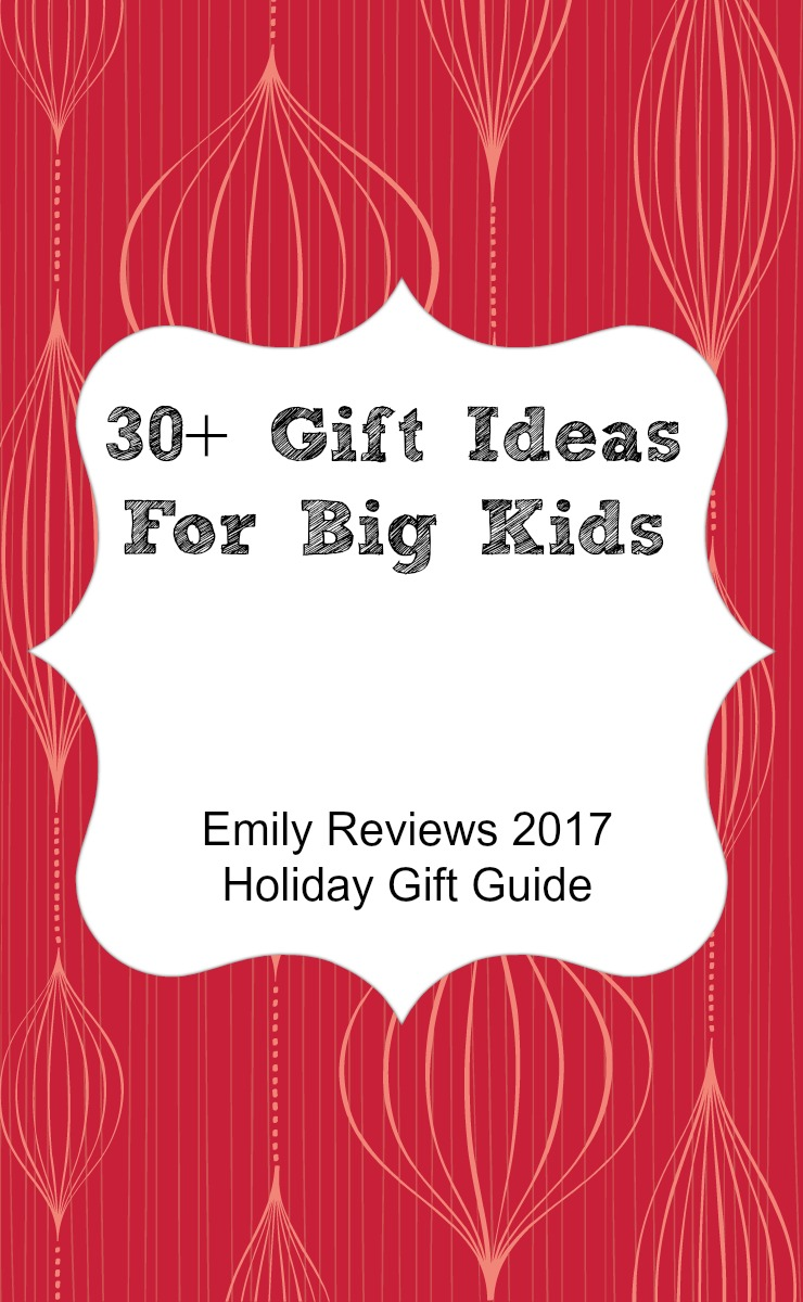 30+ unique gift ideas for big kids. Gift guide for kids ages 8-12.