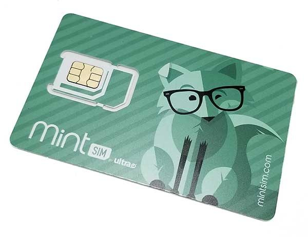 MintSim wireless phone service