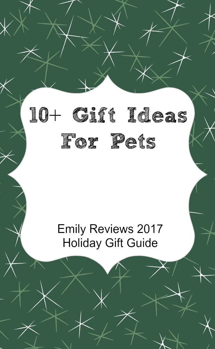 10+ gift ideas for pets. Cat and dog gift guide.