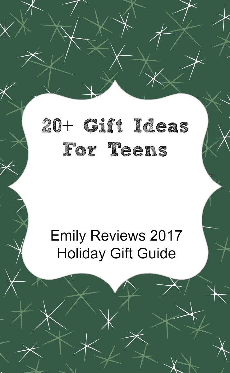 20+ gift ideas for teenagers. Gift guide for teens.