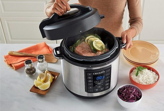 Crock-Pot NEW Express Crock Multi-Cooker Giveaway US 12/20