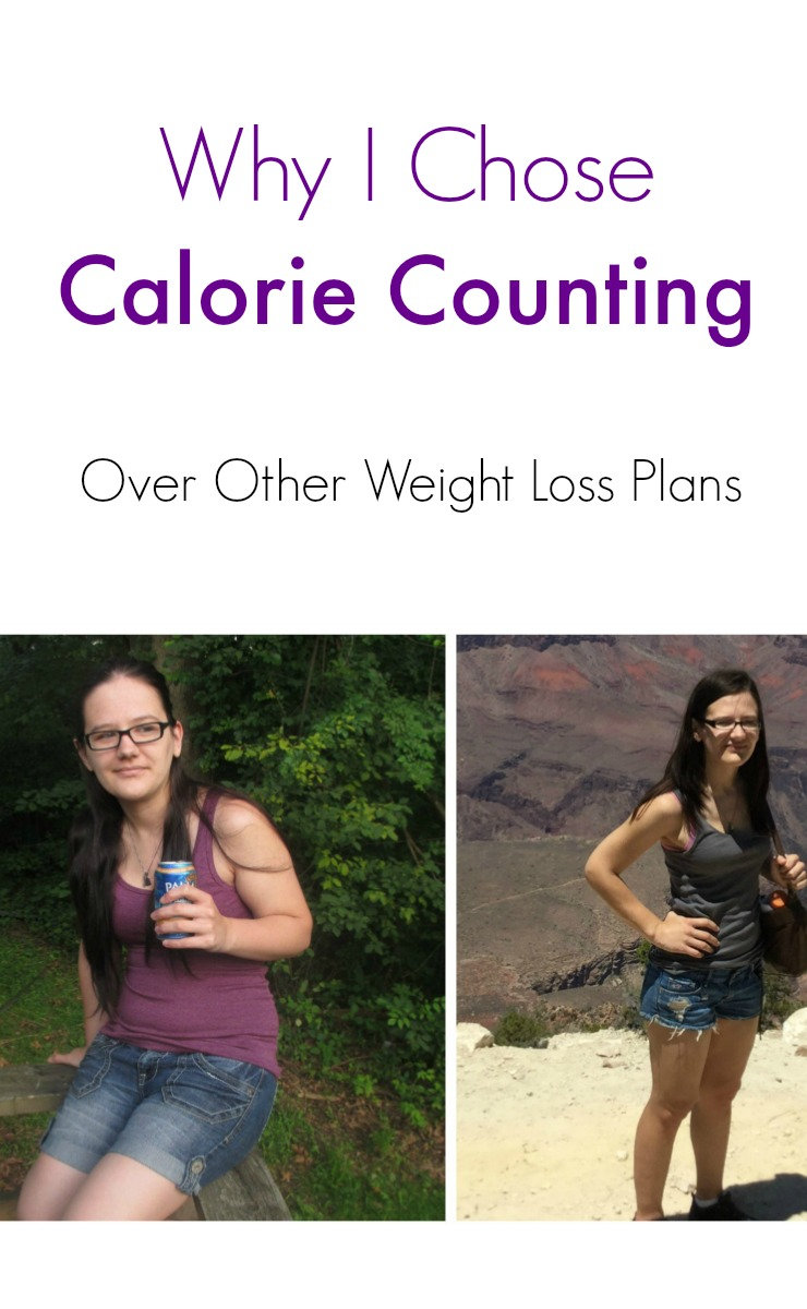 Why I Chose Calorie Counting over other weight loss plans