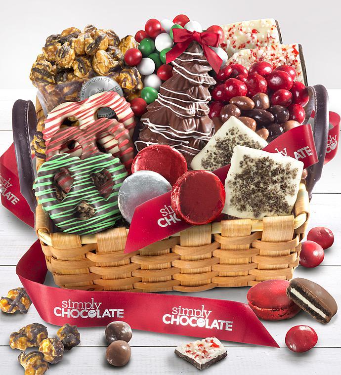 Simply Chocolate Gift Basket