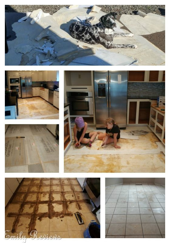 DIY ~ 8 Steps To Laying A New Tile Floor