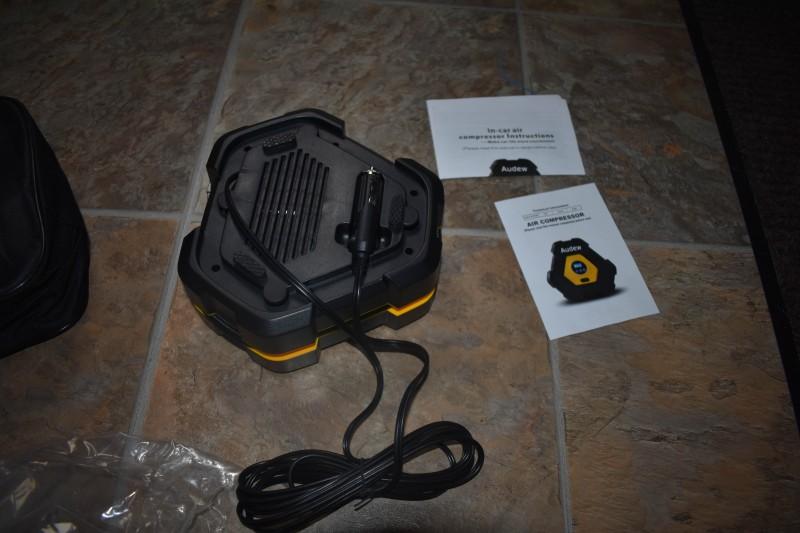 Audew air compressor portable