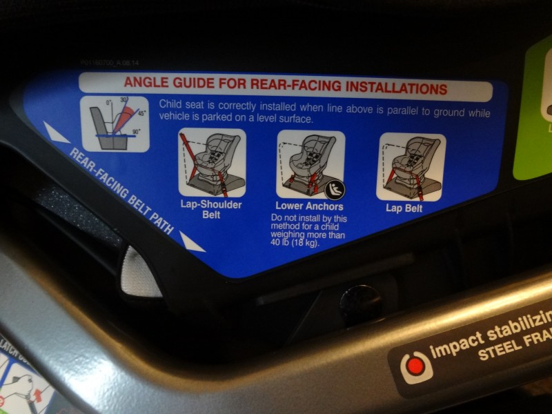 britax car seat instructions