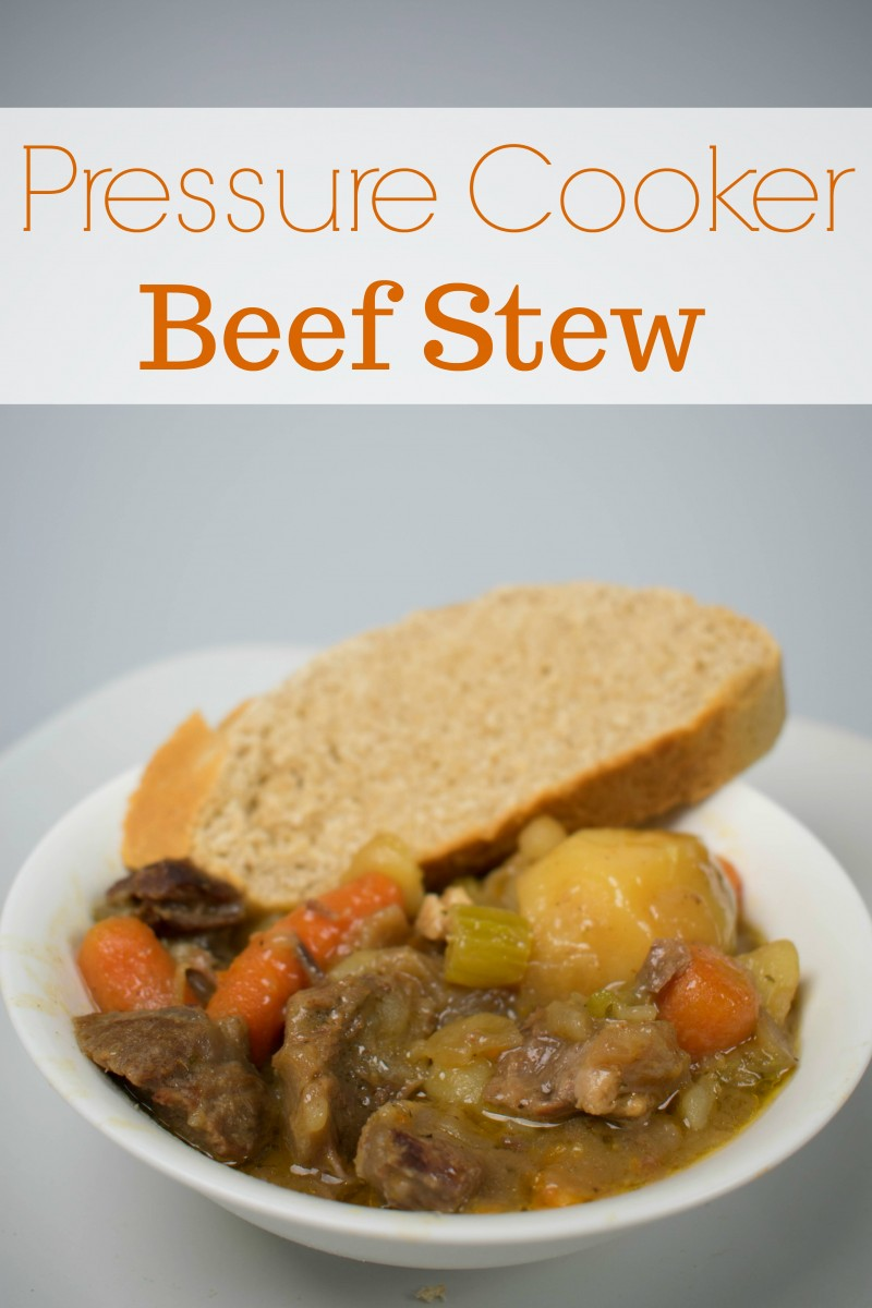 Pressure Cooker Beef Stew Recipe from bone-in chuck roast