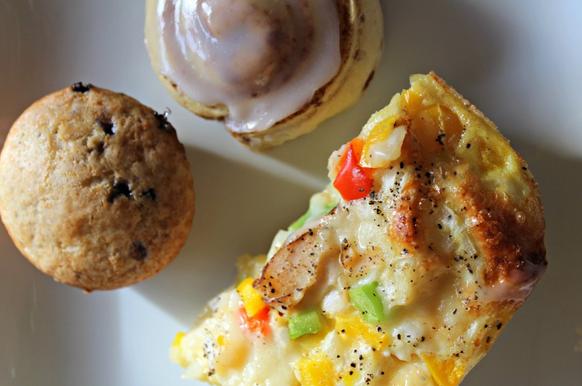 Easy Biscuit Egg Bake