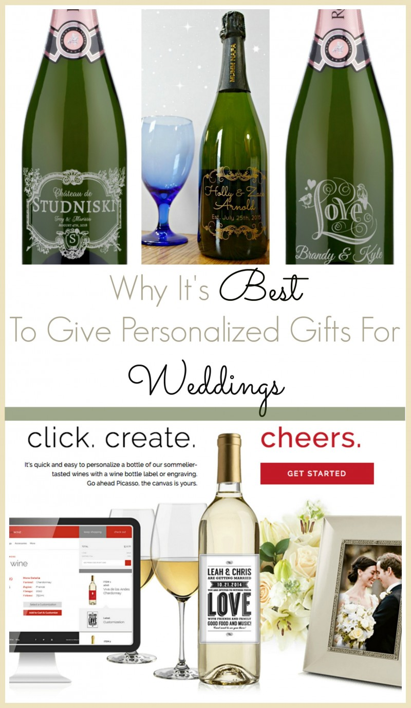 Personalized Gifts For Weddings: Why It's Best To Give Personalized Gifts For Weddings