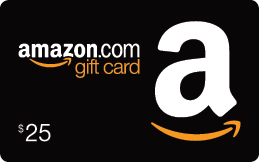 Amazon $25 gift card giveaway