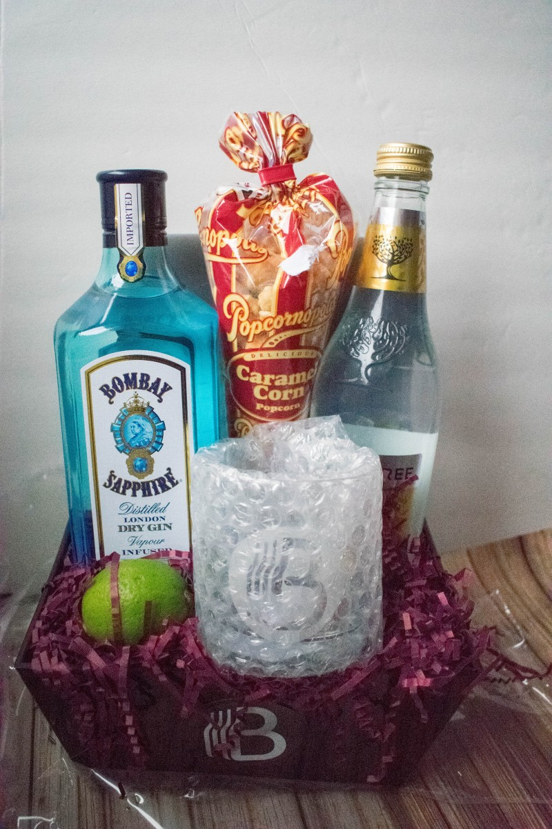 BroBasket classic gin and tonic