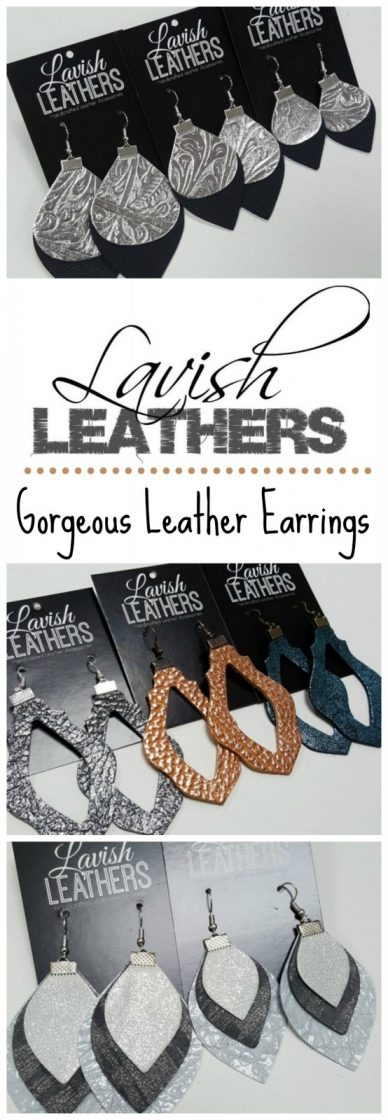 Lavish Leathers ~ Hand Crafted Leather Accessories {Mother's Day Gift Idea!}