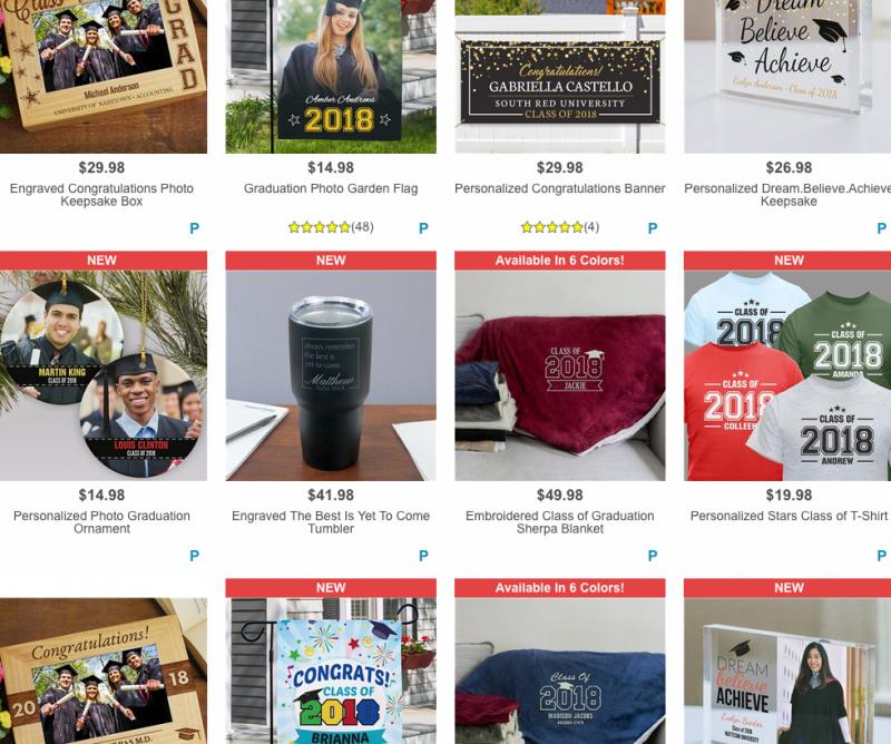 GiftsForYouNow.com ~ Fun Custom Graduation Gift Ideas!