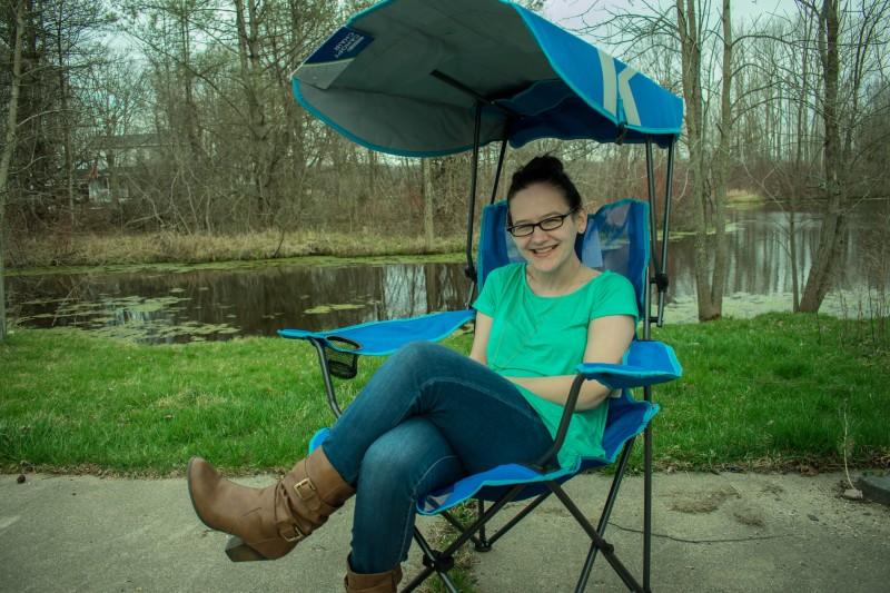 Marvelous Kelsyus Original Canopy Chair Review Emily Reviews Customarchery Wood Chair Design Ideas Customarcherynet