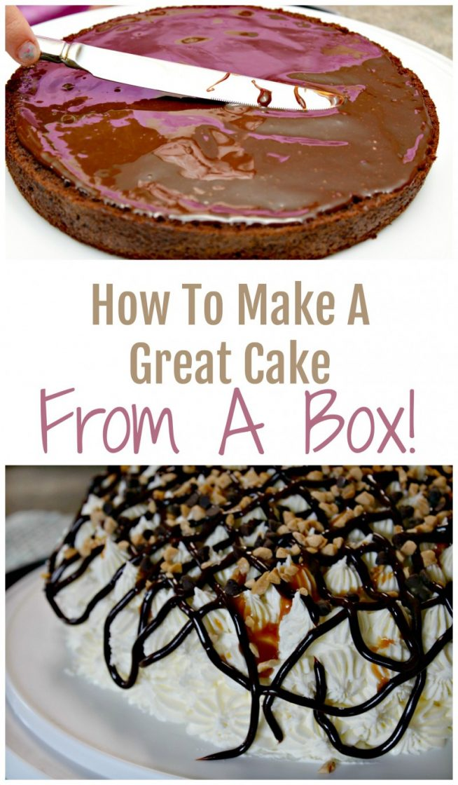 How To Make A Great Cake {From A Box!}