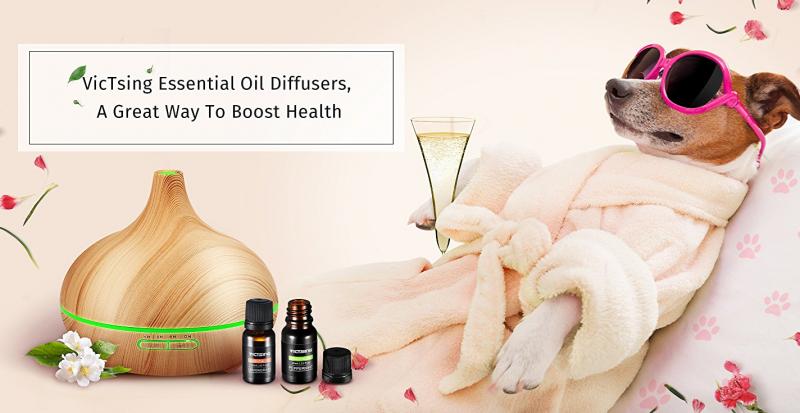 VicTsing Essential Oils & Diffusers