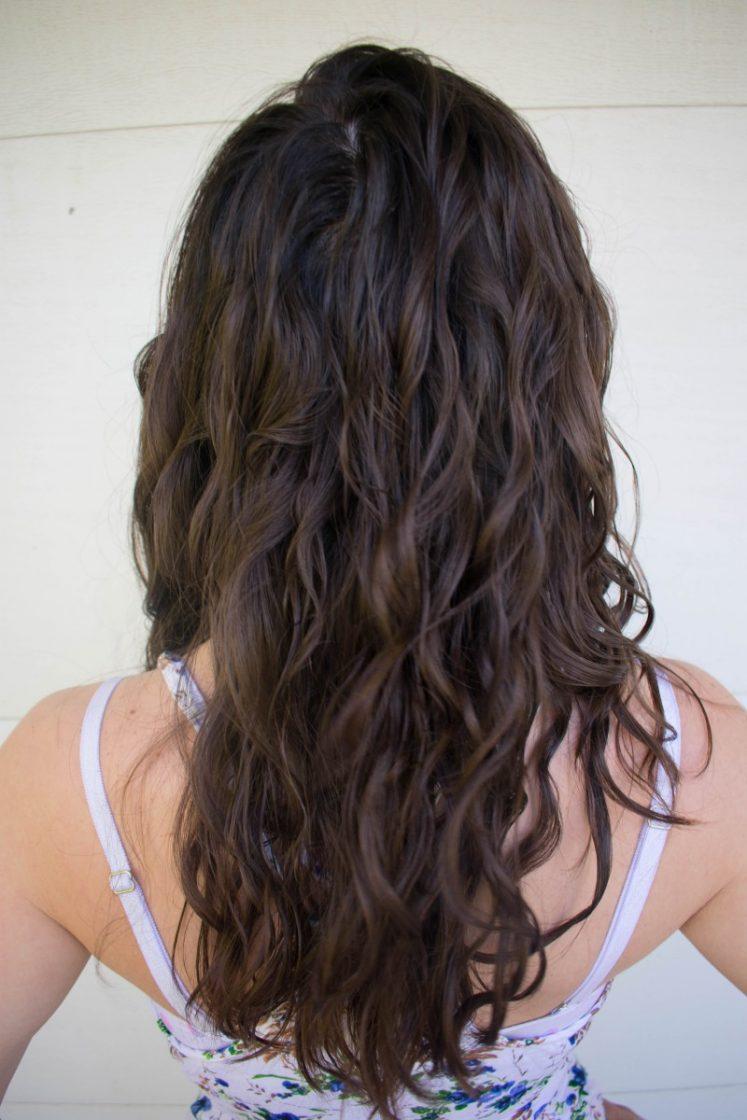 The big chop wavy curly girl method
